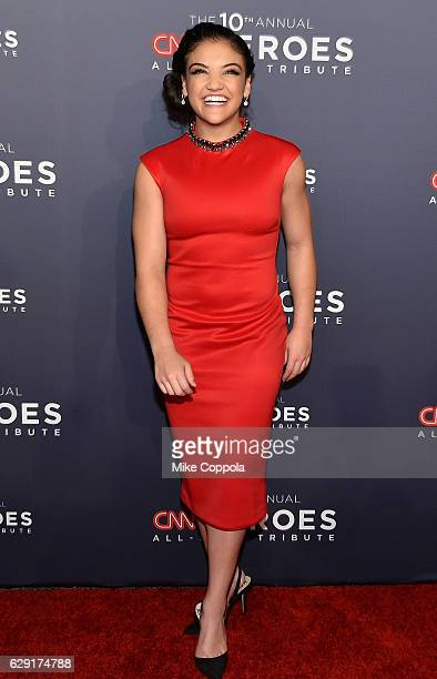 Olympic gymnast Laurie Hernandez attends CNN Heroes 2016 at the American Museum of Natural History on December 11 2016 in New York City 26362_011
