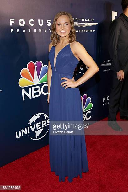Olympic gymnast Madison Kocian attends NBCUniversal's 74th Annual Golden Globes After Party at The Beverly Hilton Hotel on January 8 2017 in Beverly...