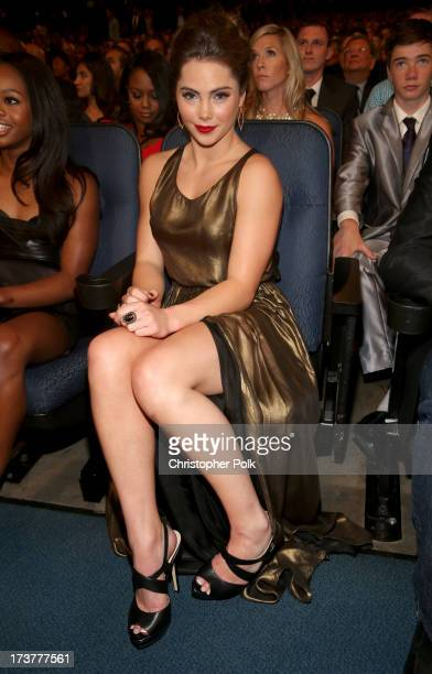 Olympic gymnast McKayla Maroney attends The 2013 ESPY Awards at Nokia Theatre LA Live on July 17 2013 in Los Angeles California