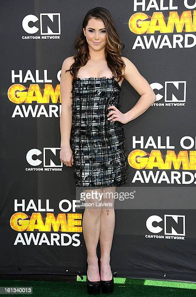 Olympic gymnast McKayla Maroney attends the Cartoon Network 3rd annual Hall Of Game Awards at Barker Hangar on February 9 2013 in Santa Monica...