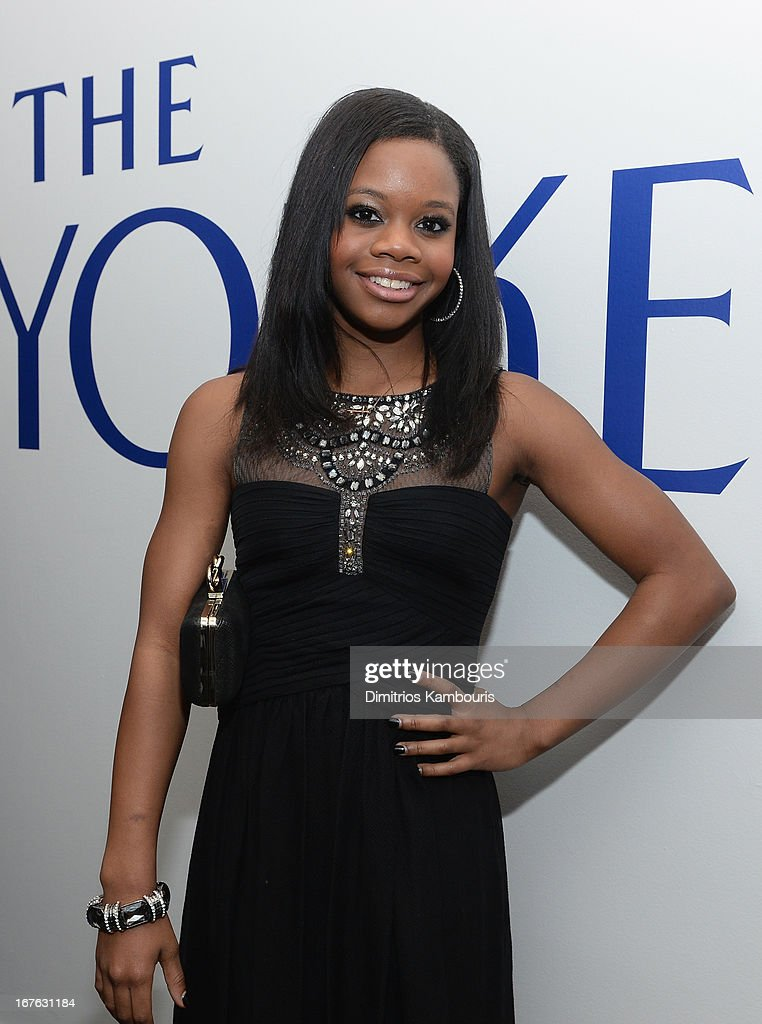 Olympic Gymnist <a gi-track='captionPersonalityLinkClicked' href=/galleries/search?phrase=Gabby+Douglas&family=editorial&specificpeople=8465211 ng-click='$event.stopPropagation()'>Gabby Douglas</a> attends The New Yorker's David Remnick Hosts White House Correspondents' Dinner Weekend Pre-Party at W Hotel Rooftop on April 26, 2013 in Washington, DC.