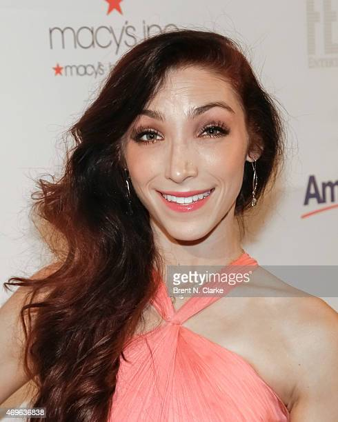 Olympic ice dancing champion/dancing with the stars winner Meryl Davis arrives for The 10th Annual Skating With The Stars Benefit Gala held at 583...
