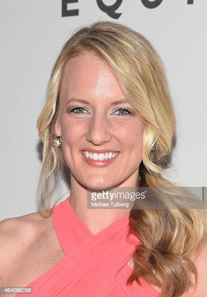 Olympic ice hockey player Brianne McLaughlin attends the 3rd Annual 'Gold Meets Golden' event to celebrate the 2015 Special Olympic Games at Equinox...