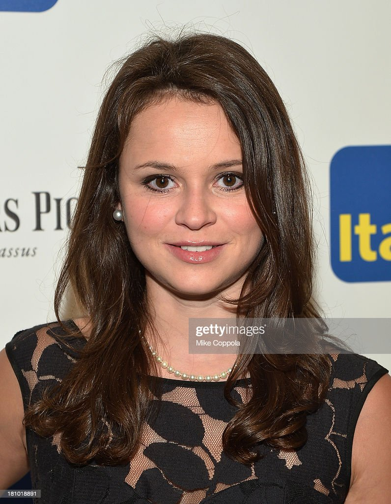Olympic ice skater Sasha Cohen attends the 11th BrazilFoundation NYC Gala at MOMA on September 18, 2013 in New York City.