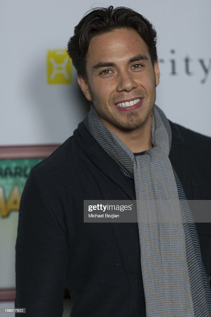Olympic Medalist and Actor Apolo Ohno attends Charlie Ebersol's 'Charlieland' Birthday Party And Charity: Water Fundraiser on December 8, 2012 in Los Angeles, California.