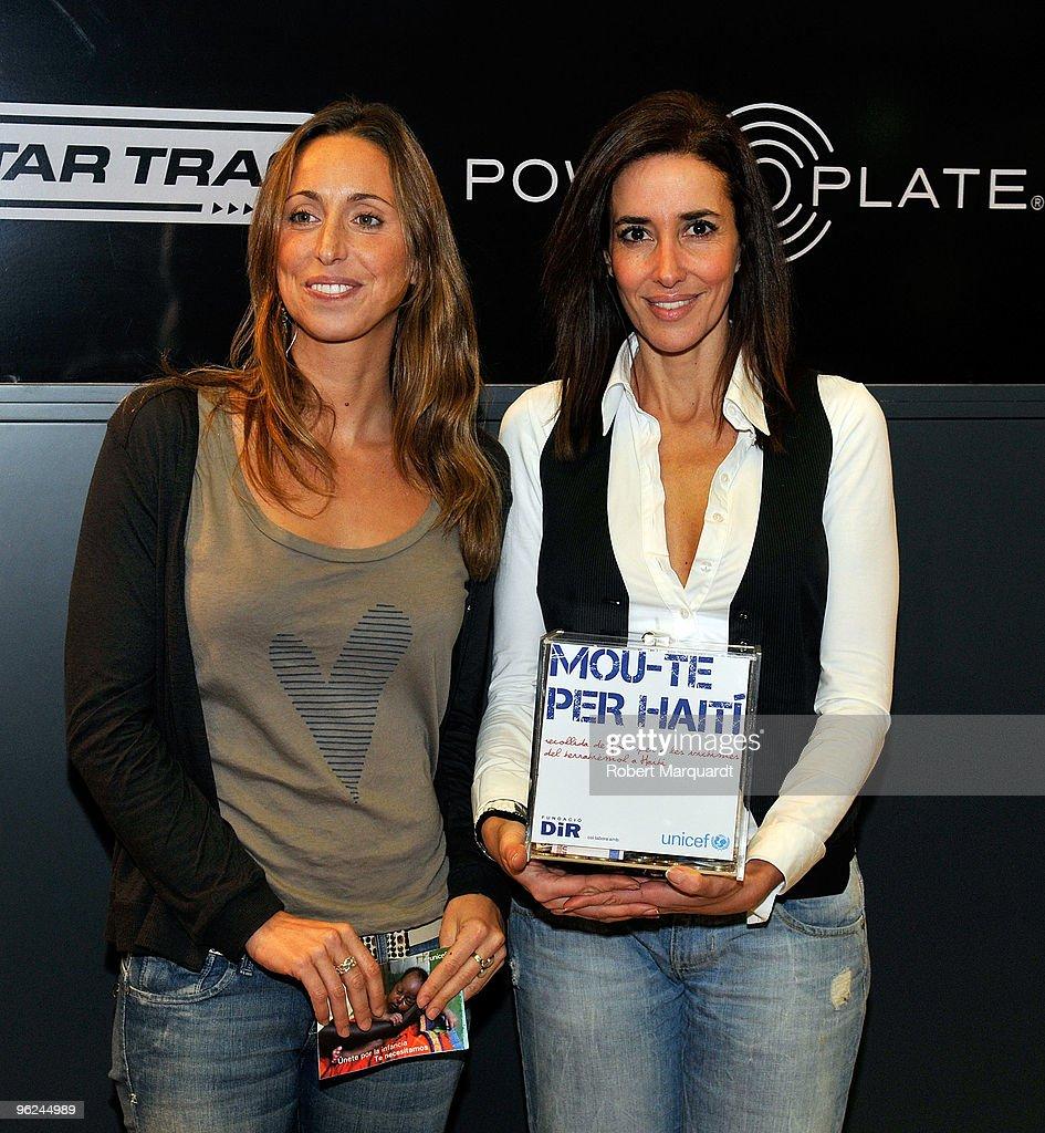 Elsa Anka and Gemma Mengual Attend a Fundraising Event for Haiti