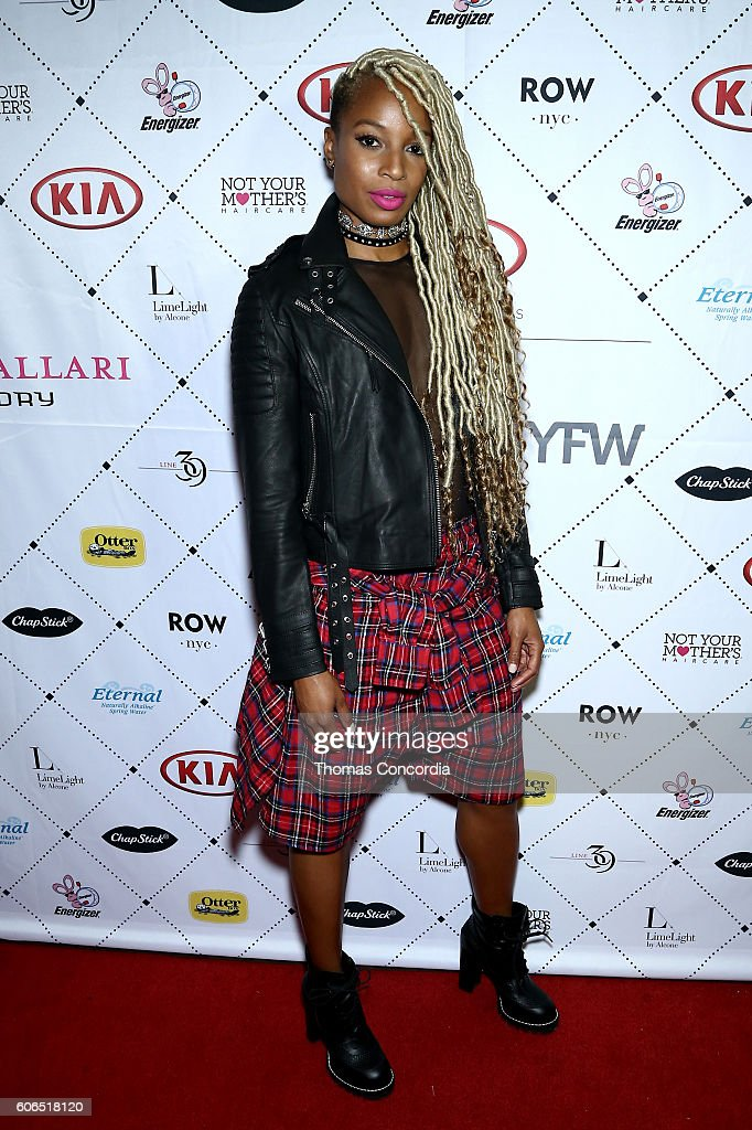 Olympic medalist Sanya Richards-Ross attends Kia STYLE360 hosts Kristin Cavallari Collections for Emerald Duv Jewelry + Chinese Laundry at Row NYC on September 15, 2016 in New York City.