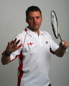 Olympic Men's Singles player Anthony Clark poses for a photo prior to a training session at the National Badminton Centre on May 22 2008 in Milton...