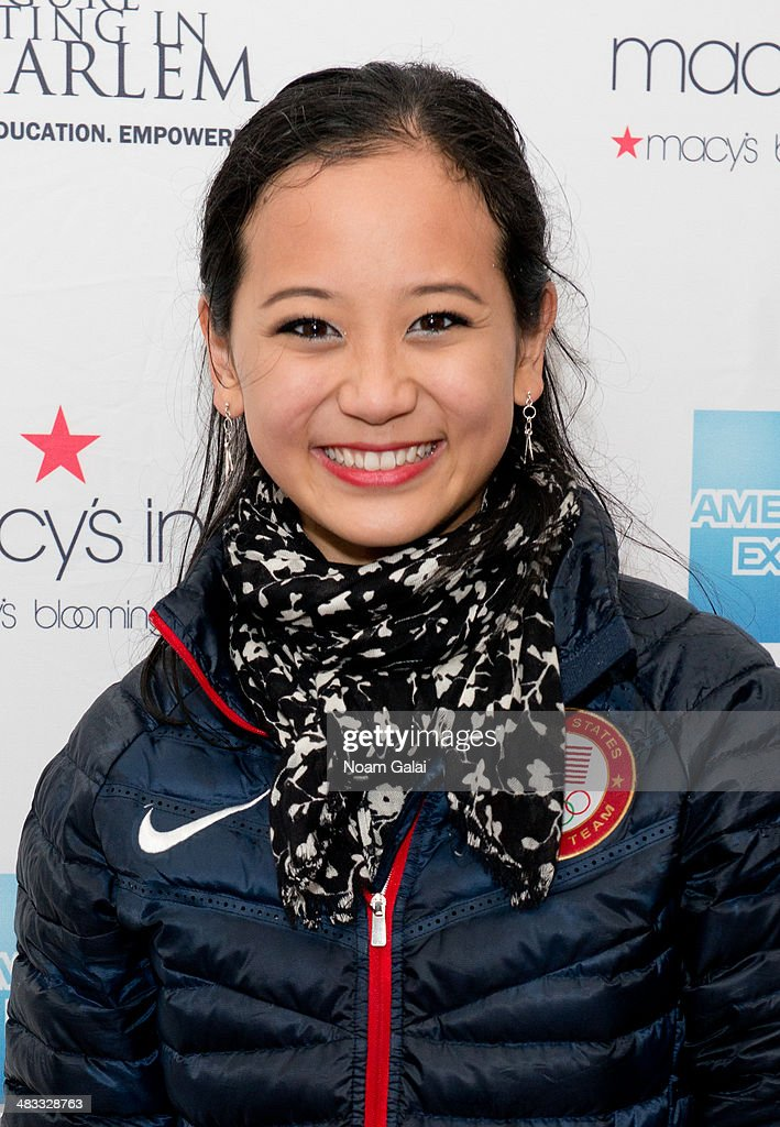 Olympic pair skater <a gi-track='captionPersonalityLinkClicked' href=/galleries/search?phrase=Felicia+Zhang&family=editorial&specificpeople=7338307 ng-click='$event.stopPropagation()'>Felicia Zhang</a> attends the Skating With The Stars Gala at Trump Rink at Central Park on April 7, 2014 in New York City.