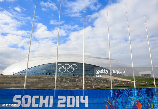 The Bolshoy Ice Dome in Olympic Park on February 6 2014 during the XXII Olympic Winter Games in Sochi Russia