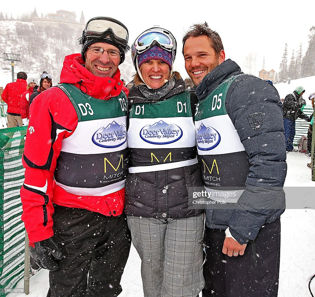 Olympic silver medalist Steve Mahre, Activist/Author Kerry Kennedy and actor Dylan Bruno attend the Deer Valley Celebrity Skifest at Deer Valley Resort on December 8, 2012 in Park City, Utah.