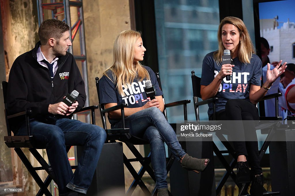 The Build Series Presents Summer Sanders, Sasha DiGiulian and Joey Cheek Discussing The Red Ball Gala