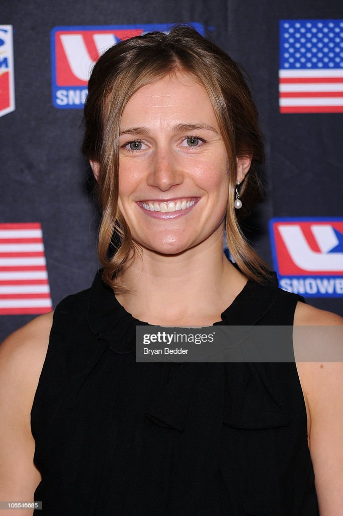 Olympic Skier <a gi-track='captionPersonalityLinkClicked' href=/galleries/search?phrase=Heather+McPhie&family=editorial&specificpeople=4105079 ng-click='$event.stopPropagation()'>Heather McPhie</a> attends the 2010 Ski and Snowboard Ball at the Hammerstein Ballroom on November 4, 2010 in New York City.