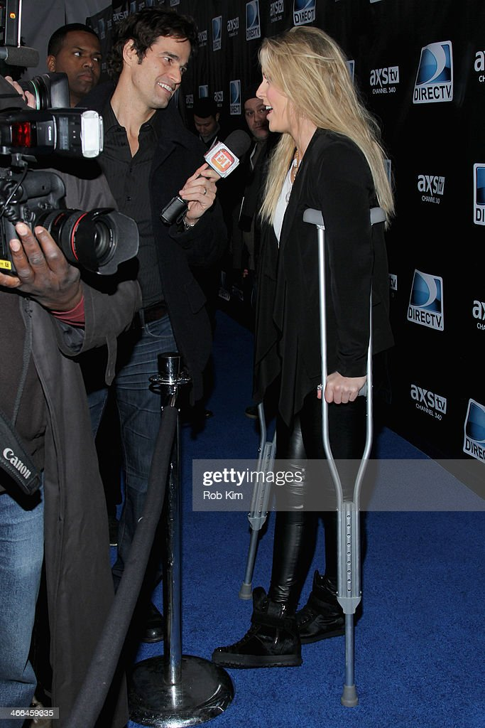 Olympic Skier Lindsay Vonn attends the DirecTV Super Saturday Night at Pier 40 on February 1, 2014 in New York City.