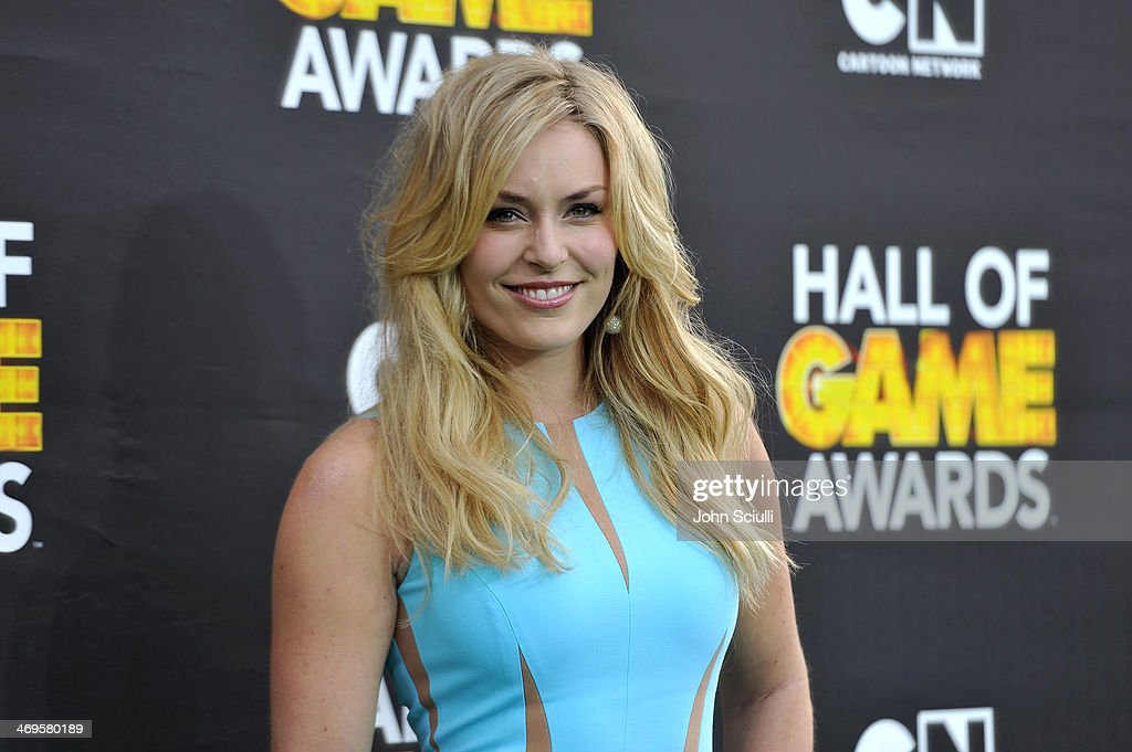 Olympic skier <a gi-track='captionPersonalityLinkClicked' href=/galleries/search?phrase=Lindsey+Vonn&family=editorial&specificpeople=4668171 ng-click='$event.stopPropagation()'>Lindsey Vonn</a> attends Cartoon Network's fourth annual Hall of Game Awards at Barker Hangar on February 15, 2014 in Santa Monica, California.
