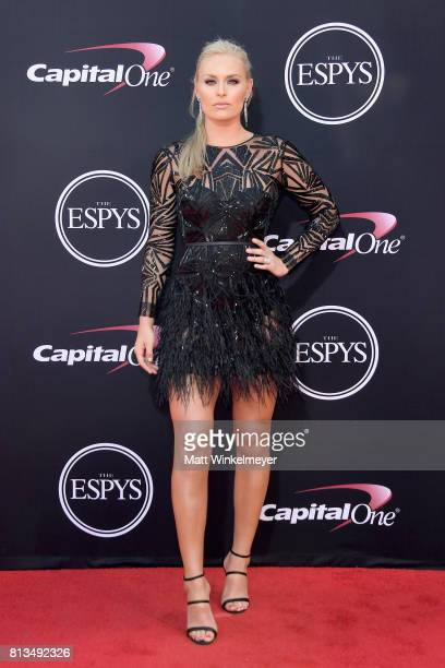 Olympic skier Lindsey Vonn attends The 2017 ESPYS at Microsoft Theater on July 12 2017 in Los Angeles California