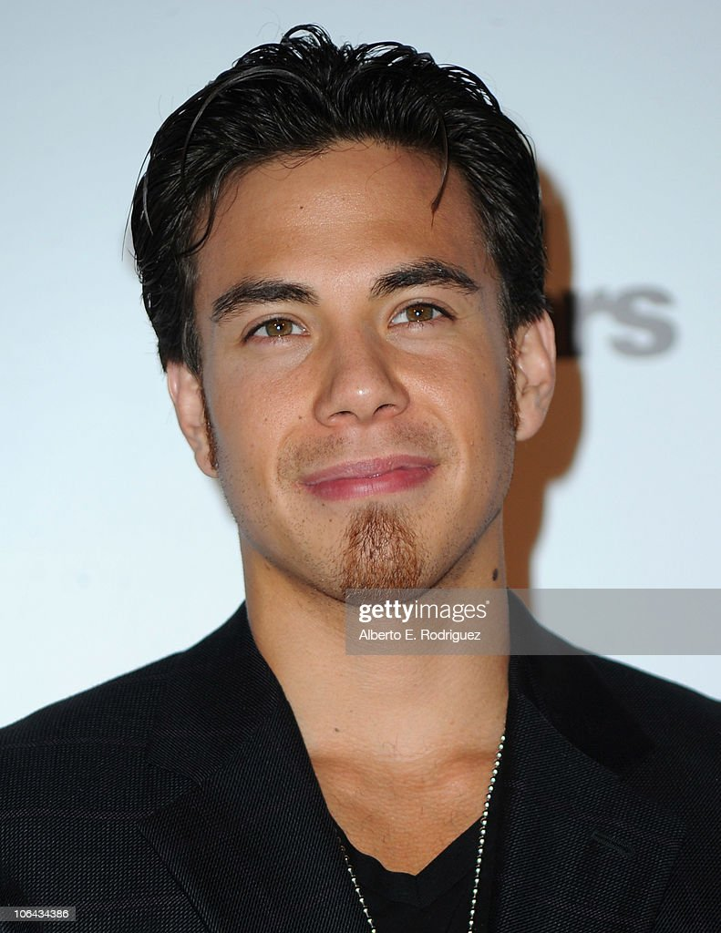 Olympic speed skater Apolo Anton Ohno arrives to ABC's 'Dancing With The Stars' 200th episode party on November 1 2010 in Los Angeles California
