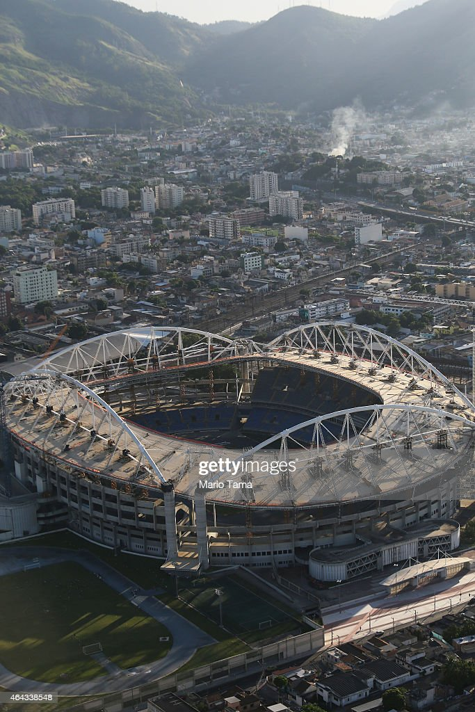 Rio 2016 Olympic Games Venues Construction in Progress ...