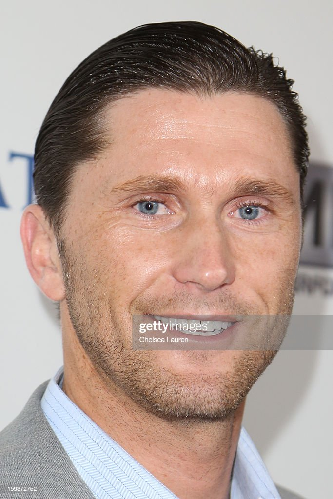 Olympic swimmer Lenny Krayzelburg arrives at CW3PR Presents 'Gold Meets Golden' event at New Equinox Flagship on January 12, 2013 in Los Angeles, California.
