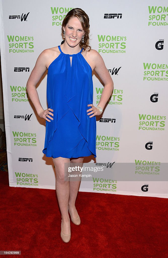 Olympic swimmer Melissa 'Missy' Franklin attends the 33rd Annual Salute To Women In Sports Gala at Cipriani Wall Street on October 17, 2012 in New York City.
