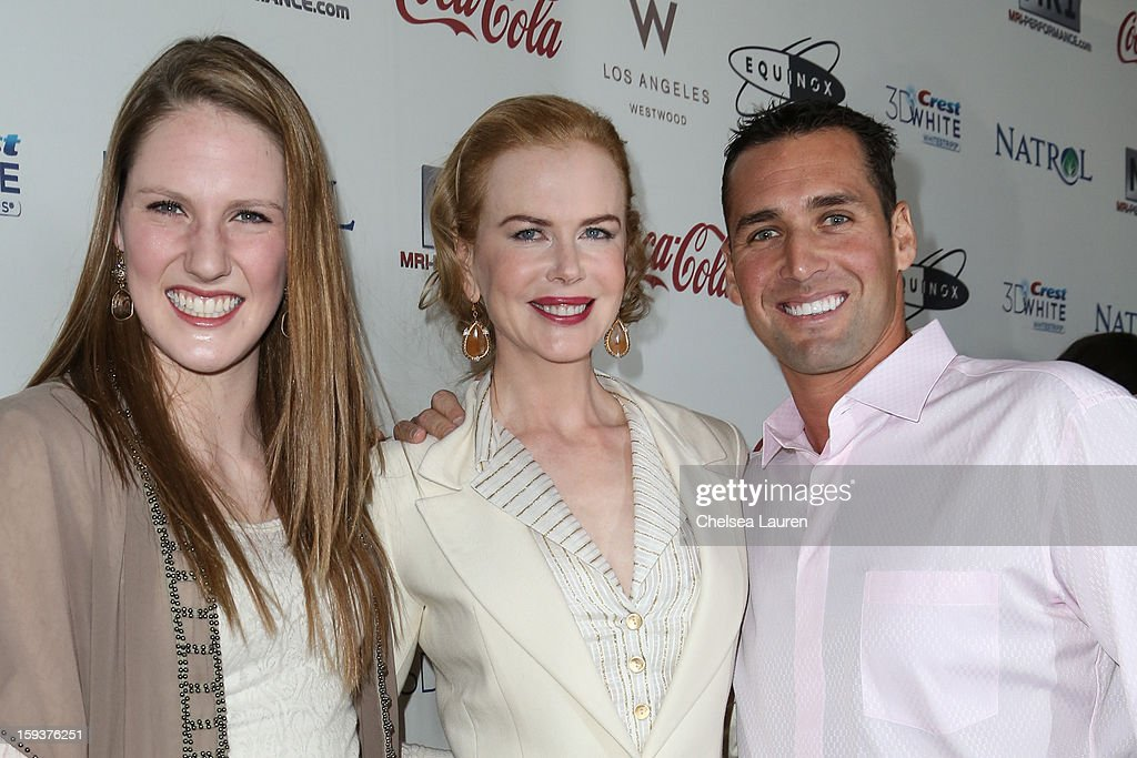 CW3PR Presents Inaugural GOLD MEETS GOLDEN Event At Equinox Sports Club Hosted By Nicole Kidman - Arrivals