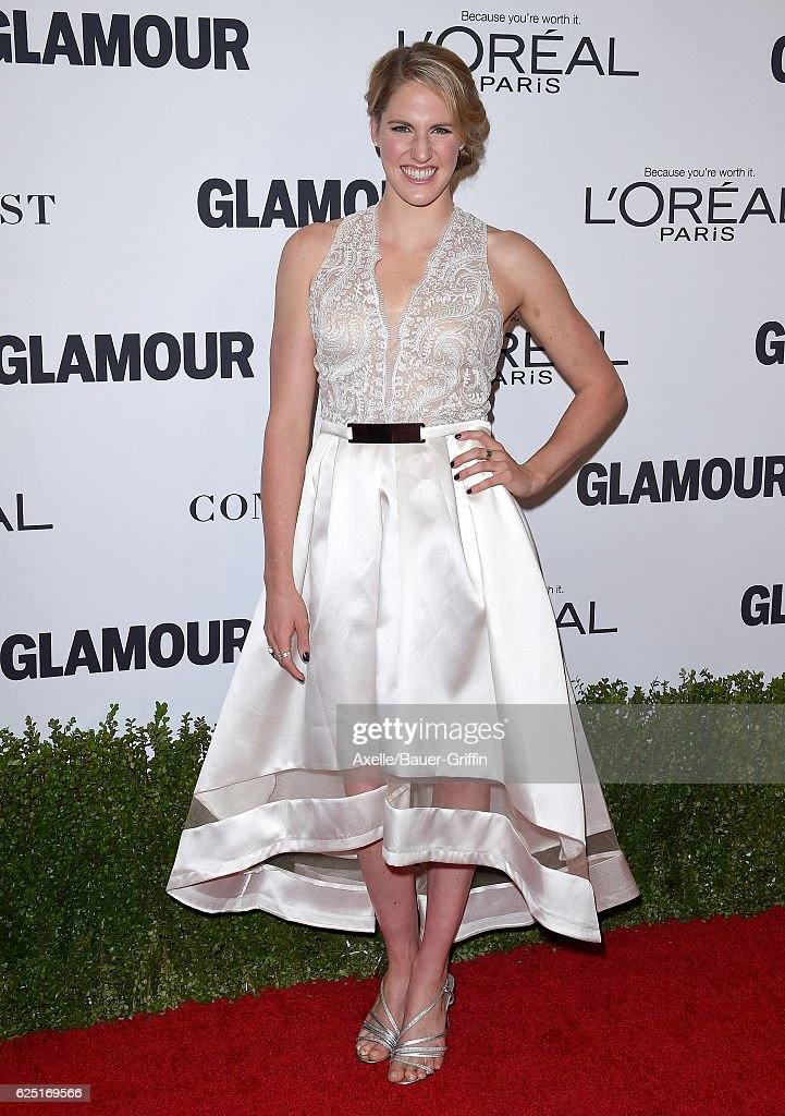 Olympic swimmer Missy Franklin arrives at Glamour Women of the Year 2016 at NeueHouse Hollywood on November 14, 2016 in Los Angeles, California.