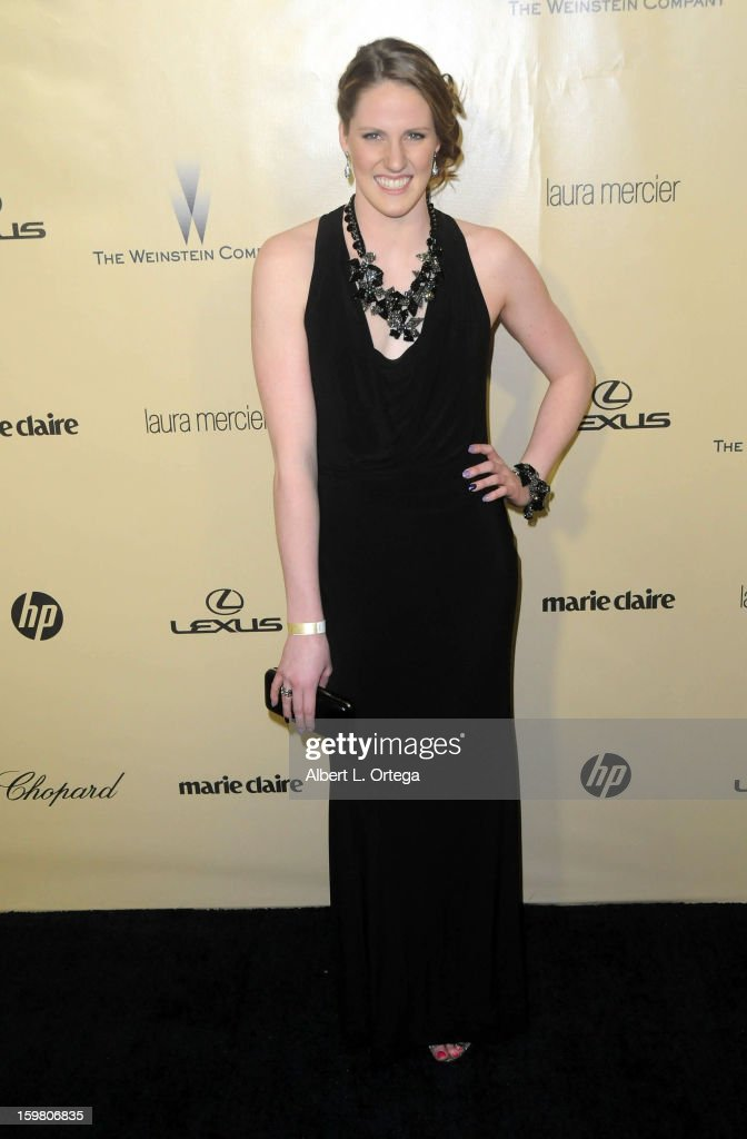 Olympic Swimmer Missy Franklin arrives for the Weinstein Company's 2013 Golden Globe Awards After Party - Arrivals on January 13, 2013 in Beverly Hills, California.
