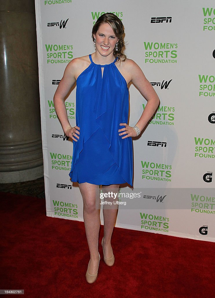 Olympic swimmer Missy Franklin attends the 33rd Annual Salute To Women In Sports Gala at Cipriani Wall Street on October 17, 2012 in New York City.