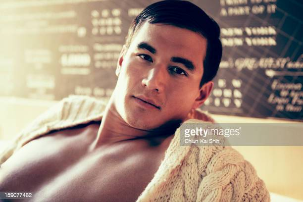 Olympic swimmer Nathan Adrian is photographed for August Man on December 1 2012 in New York City PUBLISHED IMAGE ON EMBARGO UNTIL MARCH 01 2013