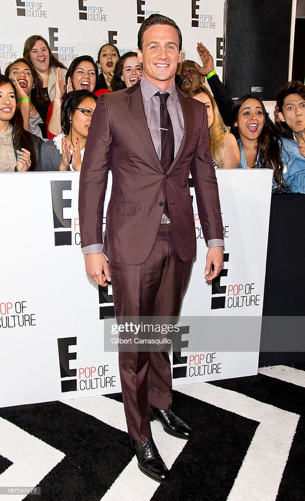 Olympic swimmer Ryan Lochte attends the E! 2013 Upfront at The Grand Ballroom at Manhattan Center on April 22, 2013 in New York City.