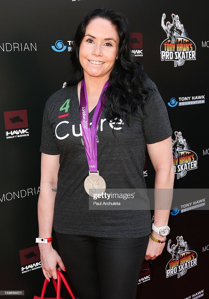 Olympic Volleyball Player Lindsey Berg attends the 9th annual Stand Up For Skateparks benefit at Ron Burkle's Green Acres Estate on October 7, 2012 in Beverly Hills, California.