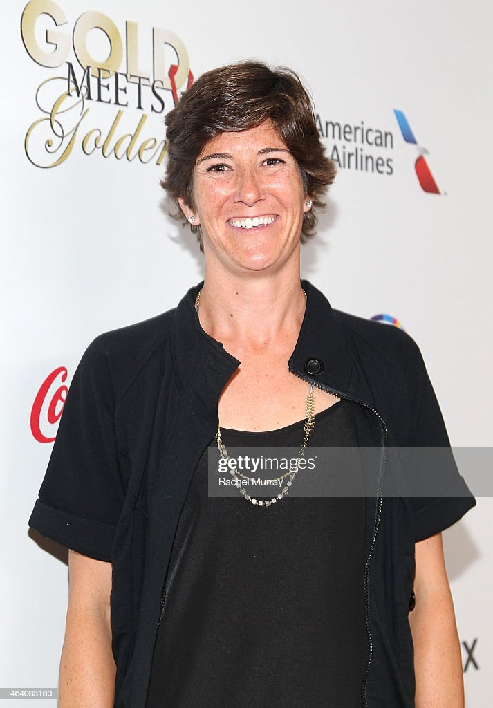 Olympic Volleyball player Nicole Branagh attends CW3PR presents Gold Meets Golden at Equinox Sports Club on February 21, 2015 in Los Angeles, California.