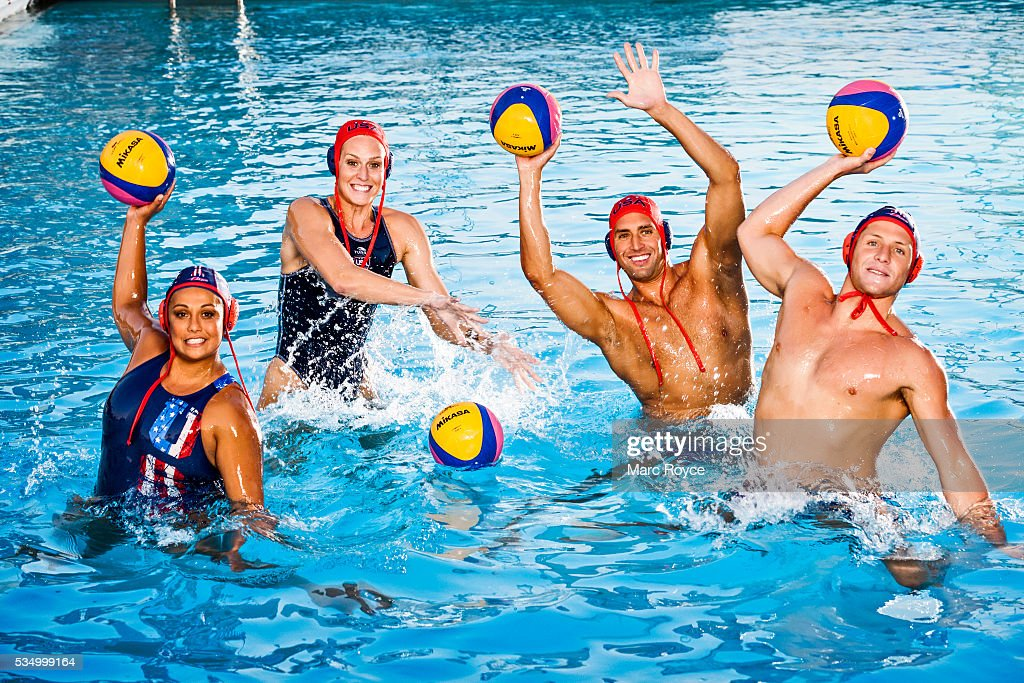 U.S. Olympic Water Polo Players