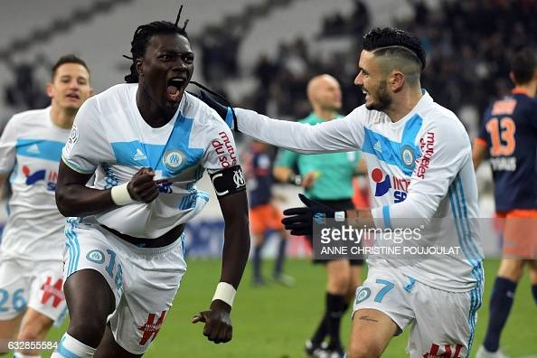 FBL-FRA-L1-MARSEILLE-MONTPELLIER : News Photo