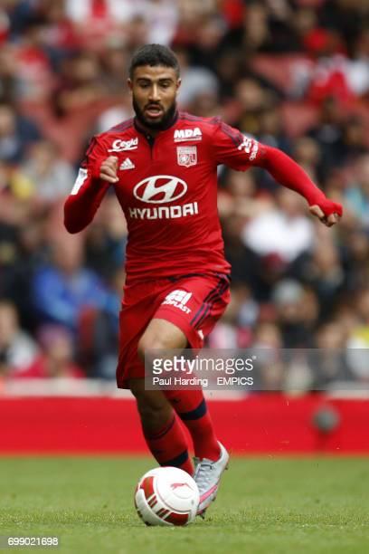 Olympique Lyonnais' Nabil Fekir