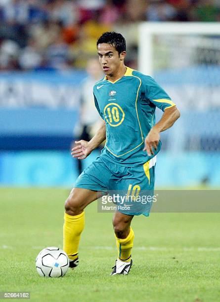 Olympische Spiele Athen 2004 170804 Argentinien Australien Tim CAHILL/AUS