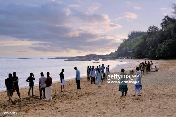 Om Beach, Gokarna, Karnataka, India, Asia