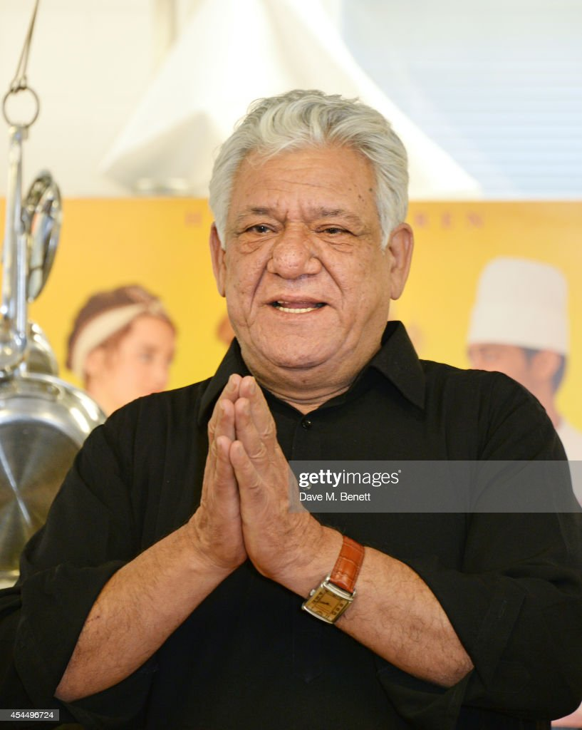 <a gi-track='captionPersonalityLinkClicked' href=/galleries/search?phrase=Om+Puri&family=editorial&specificpeople=1651238 ng-click='$event.stopPropagation()'>Om Puri</a> attends a photocall for 'The Hundred-Foot Journey' at Le Cordon Bleu on September 2, 2014 in London, England.