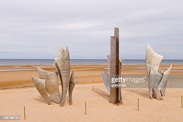 Omaha Beach D-Day Memorial