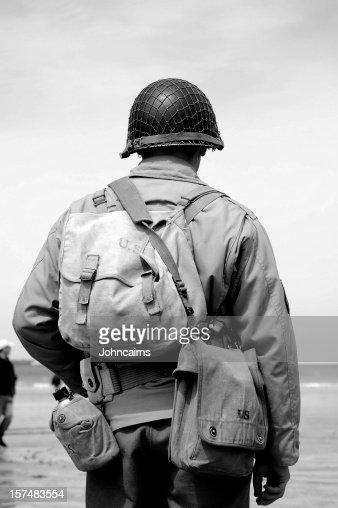 Omaha Beach Soldier.