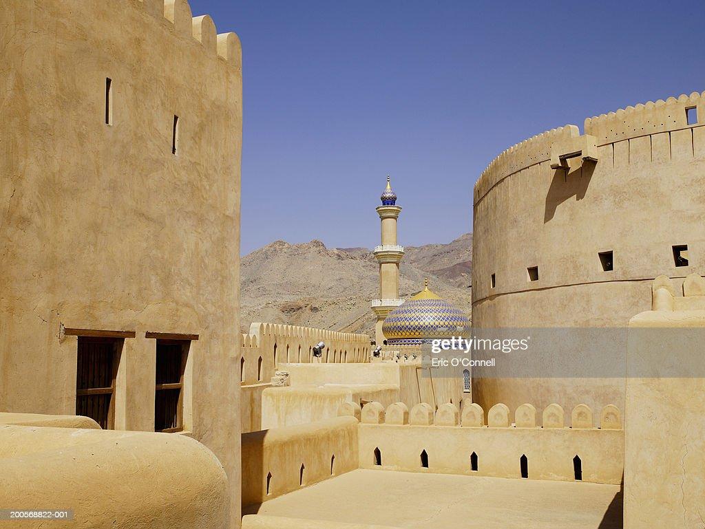 Oman, fortress at Nizwa