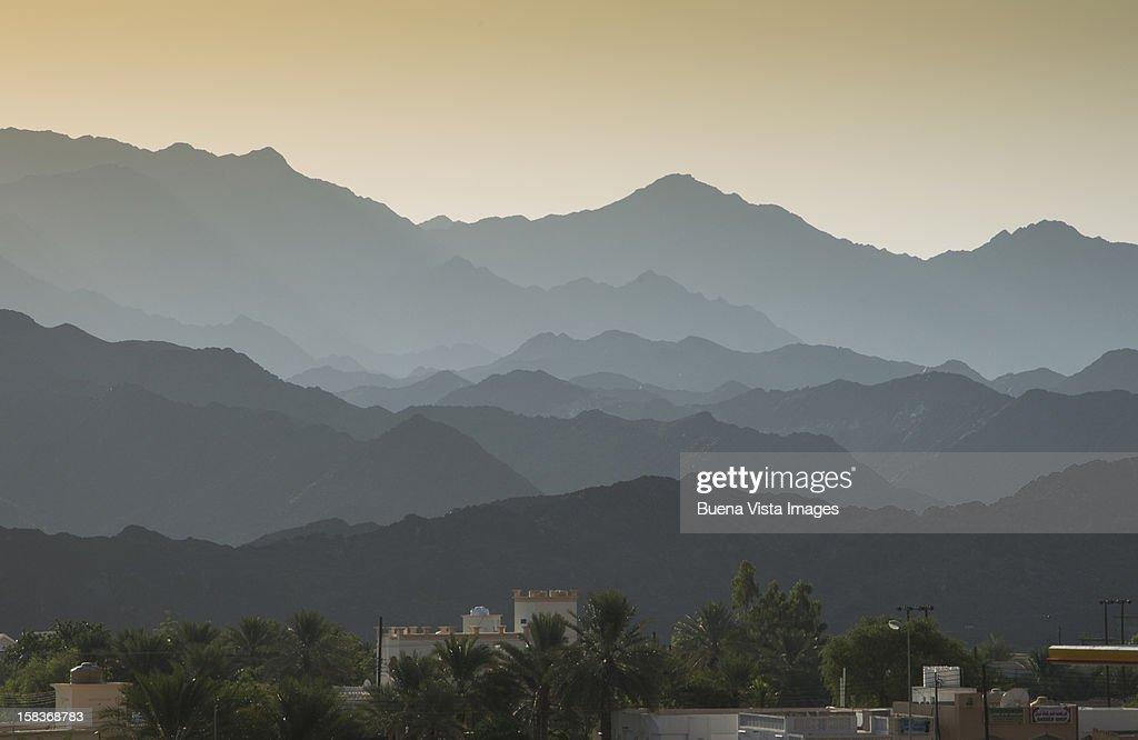 Oman landscape near Nizwa