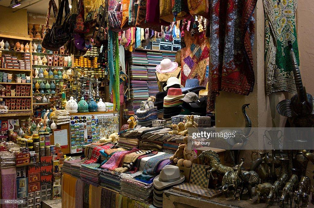 Oman, Muscat, Mutrah Souk traditional bazaar
