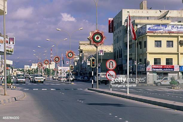 Oman Salalah Street Scene