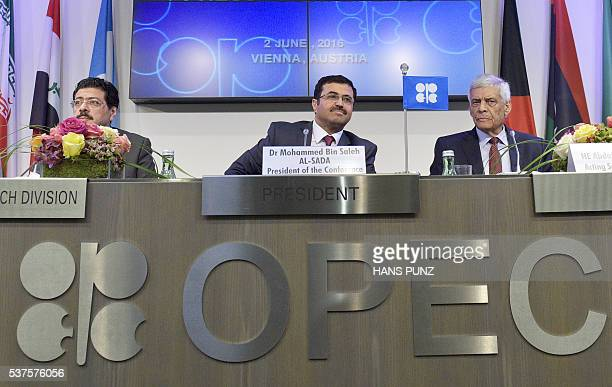 Omar Abdul Hamid OPEC Director of Research Division Mohammed Bin Saleh AlSada Minister of Energy and Industry of Qatar and President of the OPEC...