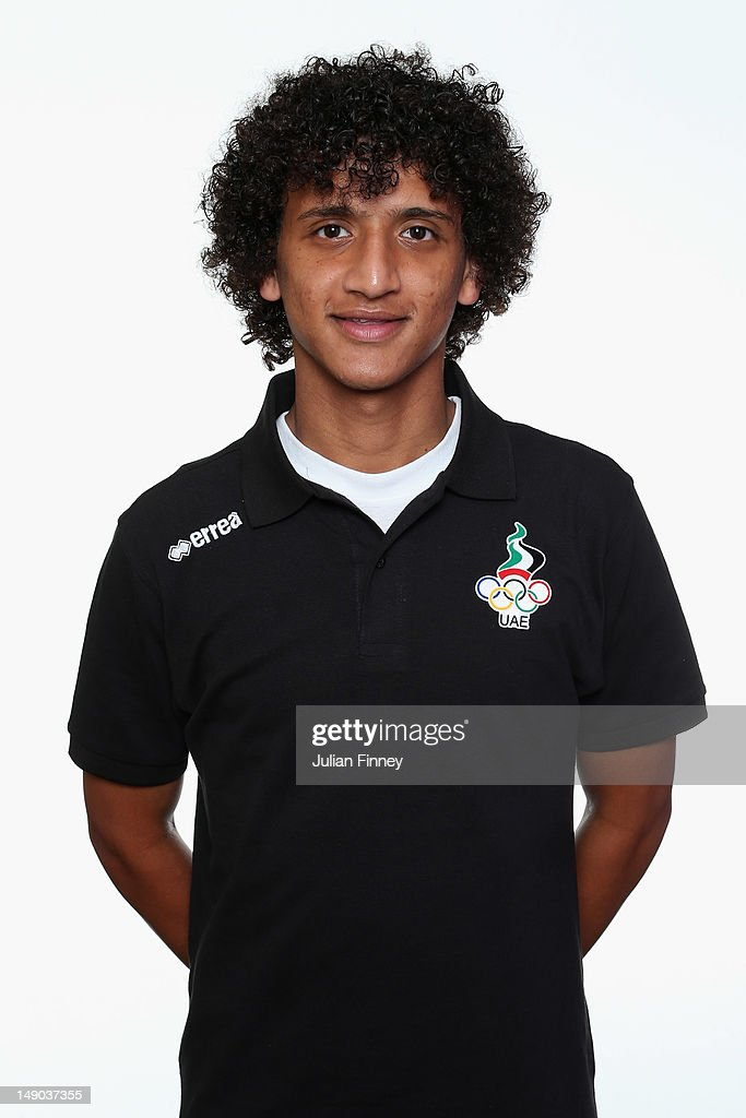 <a gi-track='captionPersonalityLinkClicked' href=/galleries/search?phrase=Omar+Abdulrahman&family=editorial&specificpeople=6420654 ng-click='$event.stopPropagation()'>Omar Abdulrahman</a> Ahmed Al Moudi of UAE poses during a portrait session on July 22, 2012 in Manchester, England.