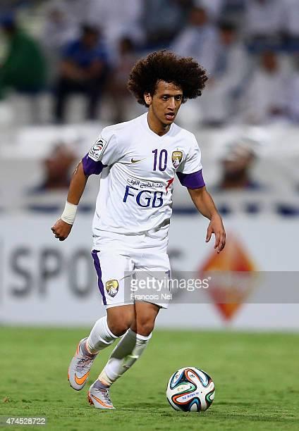 Omar Abdulrahman in action during the Presidents Cup Quarter Final match between Al Ain and Al Nasr at Al Maktoum Stadium on May 23 2015 in Dubai...