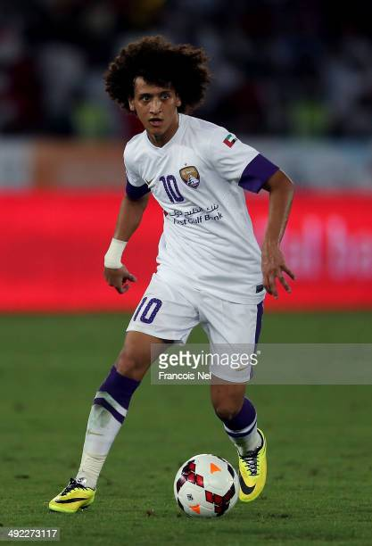 Omar Abdulrahman of Al Ain in action during the Presidents Cup Final match between Al Ain and Al Ahli at Zayed Sports City on May 18 2014 in Abu...