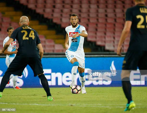 Omar El Kaddouri during the friendly soccer match between SSC Napoli and AS Monaco at the San Paolo stadium in Naples Italy Final result Napoli vs...