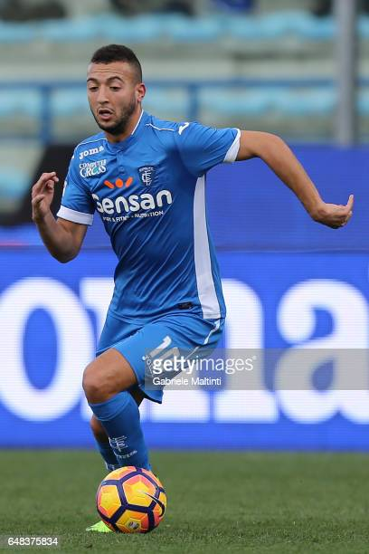 Omar El Kaddouri of Empoli FC in action during the Serie A match between Empoli FC and Genoa CFC at Stadio Carlo Castellani on March 5 2017 in Empoli...